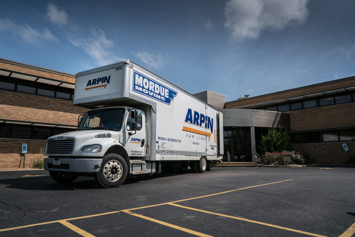 Local Move - Mordue Moving and Storage